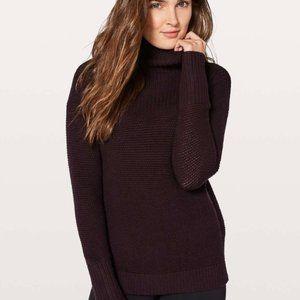 lululemon wool warm and restore sweater